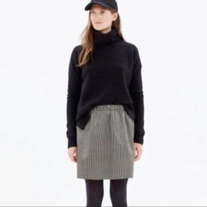 Madewell Gold and Black skirt
